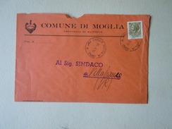 TEMATICA BUSTE COMUNALI - COMUNE DI MOGLIA    1969 - Buste