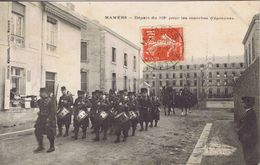 72 - Mamers (Sarthe) - Départ Du 115e Régiment D'Infanterie Pour Les Marches D'épreuves - Mamers