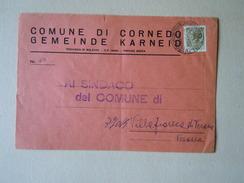 TEMATICA BUSTE COMUNALI - COMUNE DI CORNEDO 1969 - Buste
