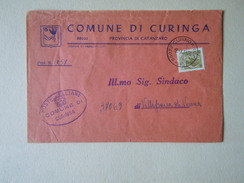 TEMATICA BUSTE COMUNALI - COMUNE DI CURINGA  1969 - Buste