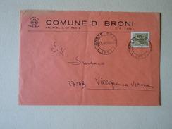 TEMATICA BUSTE COMUNALI - COMUNE DI  BRONI 1969 - Buste