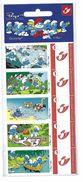 BELGIQUE - BELGIE Mijn Zegel DUOSTAMP  -  Strook Van 5 Postzegels Smurfen - Schtroumpfs Geseald - Belgique
