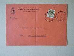 TEMATICA BUSTE COMUNALI - COMUNE DI  CAVEDAGO 1969 - Buste