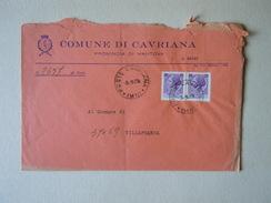 TEMATICA BUSTE COMUNALI - COMUNE DI  CAVRIANA 1969 - Buste