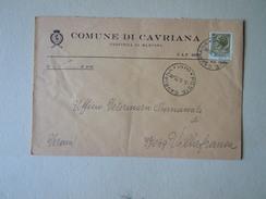 TEMATICA BUSTE COMUNALI - COMUNE DI  CAVRIANA N 2  1970 - Buste