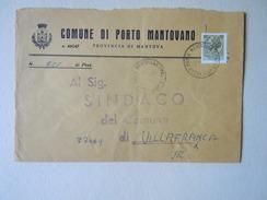 TEMATICA BUSTE COMUNALI - COMUNE DI  PORTO MANTOVANO   1969 - Buste