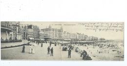 Ostende Panorama Ouest ( Gelopen Kaart ) - Oostende