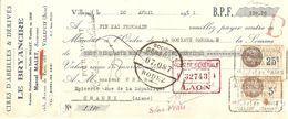 TRAITE 1931 LE BRYANCIRE MARCEL MALLET AVENUE DE PARIS VILLEJUIF - CIRE D'ABEILLE ET DÉRIVÉS - RODEZ LAON - Drogerie & Parfümerie