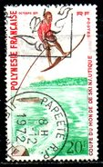 POLYNESIE. N°87 Oblitéré De 1971. Ski Nautique. - Water-skiing