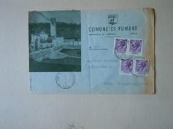 TEMATICA BUSTE COMUNALI - COMUNE DI  FUMANE   N 3 1969 - Buste