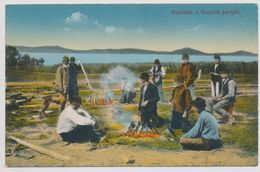 Cooking Fish On The Bank Of The Balaton - Hungary