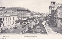 WARZAWA/VARSOVIE. KRAKOWSKIE PRZEDMIESCIE/PRÉPARATION DE CRACOVIE. STREET VIEW. CIRCA 1910. TBE -BLEUP - Estland