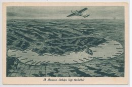 The View Of The Balaton From Aerial Perspective - Hungary