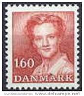 DENEMARKEN-DENMARK 1981 40õre 1.60 Margrethe II Rood PF-MNH-NEUF - Danemark