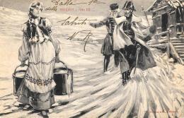 [DC9192] CPA - SIBERIA ATTO III - TEATRO SCALA - MILANO - Viaggiata 1903 - Old Postcard - Teatro