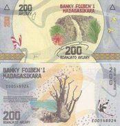 Madagascar New 200 Ariary 2017  UNC - Madagascar