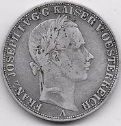 Autriche - Thaler - 1858 A - Argent - Autriche