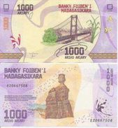 Madagascar New 1000 Ariary 2017  UNC - Madagascar