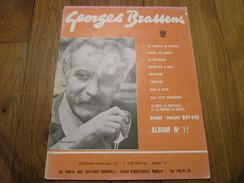 GEORGES BRASSENS - Album N°12 (9 Titres) - Spartiti
