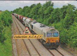 Loco Class 77 EMD ECR Et Train De Trémies à Vignats (14) - - Autres Communes