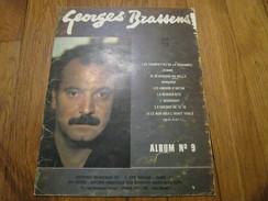 GEORGES BRASSENS - Album N°9 (9 Titres) - Spartiti