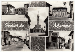 SALUTI DA MARNATE - VARESE - 1966 - VEDUTE - Varese