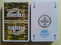 CARLING. Les Engrais Granulés. Houillères Du Bassin De Lorraine. Jeu Neuf De 32 Cartes Sous Blister. - Speelkaarten