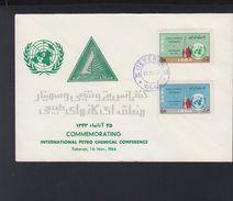 Iran FDC  1964 Petro Chemical Conference - Iran