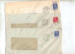 Lettre Cachet Wasselonne Sur Gandon - Marcophilie (Lettres)