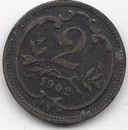 Autriche - 2 Heller 1902 - Autriche