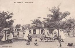 SENEGAL. PLACE DE THIES. FORTIER, PHOT. DAKAR. PANORAMA. CIRCA 1910s. TBE -BLEUP - Senegal