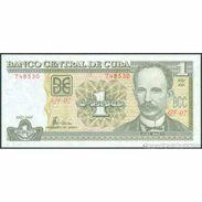 TWN - CUBA 121e - 1 Peso 2005 Serie GF-07 UNC - Cuba