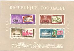 TOGO Scott C34a Yvert  BF 9 (bloc) ** Cote 4,5$ 1963 - Togo (1960-...)