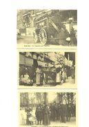 Cartes Postales  Paris Vécu (75)  (3cartes) Reproduction - Petits Métiers à Paris