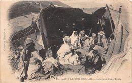 ¤¤  -  ALGERIE  -  ORAN  -   Dans Le Sud Oranais  -  Intérieur D'une Tente   -  ¤¤ - Oran