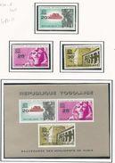 TOGO Scott 476-478, 478a  Yvert  409-411, BF 11 (3 + Bloc) **cote 4$ 1964 - Togo (1960-...)