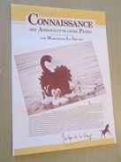 """PUB914  Dossiers Chocolat Images Poulain """"CONNAISSANCE DES ANIMAUX ET DE LEURS PETITS"""" Complet Avec Toutes Ses Images , - Chocolat"""