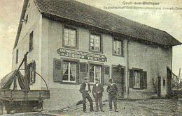 CPA - BINING (57) - BININGEN - Aspect Du Restaurant-Epicerie Joseph Thiel En 1919 - Autres Communes