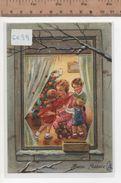 6699 BUON NATALE MAMMA BAMBINI ORSETTO - Natale