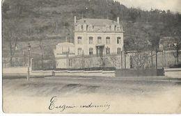 ENVIRONS D'ENGIS ??    VILLA  ( Ecrite 1909 ) - Engis
