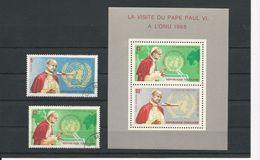 TOGO Scott 553, C49, C50a Yvert  477, PA 51, BF 20 (2+bloc) O, O, ** Cote 4$ 1966 - Togo (1960-...)