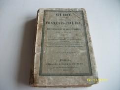 Guide De La Conversation Français-italien 1855 - Dictionaries