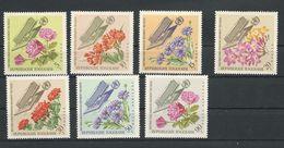 TOGO Scott 558-562, C52-C53 Yvert  490-494, PA 55- PA56 (7) ** Cote 5$ 1966 - Togo (1960-...)