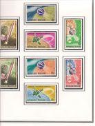 TOGO Scott 593-598, C65-C66 Yvert 526-530, PA67-PA68 (8) ** Cote 5,00$ - Togo (1960-...)