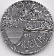 Autriche - 5 Euro 1996 - Austria
