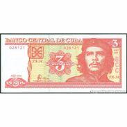 TWN - CUBA 127a - 3 Pesos 2004 Serie FA-34 UNC - Cuba