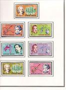 TOGO Scott 599-603, C67-C68 Yvert 531-5, PA68-70 (7) ** Cote 5,40$ - Togo (1960-...)