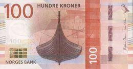 NORWAY P. NEW 100 K 2016 UNC - Norway