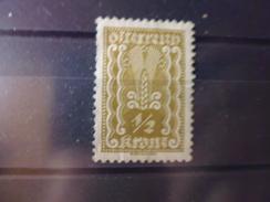 AUTRICHE YVERT N° 253* - 1918-1945 1. Republik