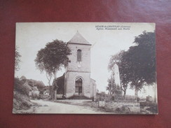 CPA 19 SEGUR LE CHATEAU EGLISE MONUMENT AUX MORTS - Altri Comuni